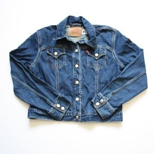 Levi's Blue Weekend Denim Jean Jacket Sz L